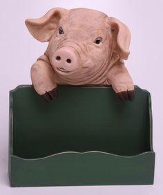 Another great find on #zulily! Pig Spice Rack #zulilyfinds