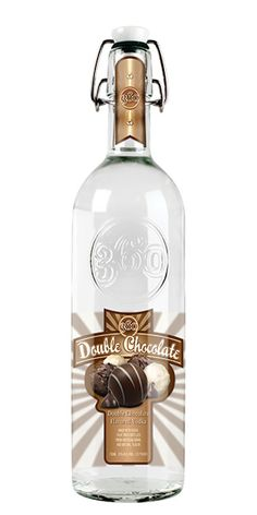 360 Double Chocolate Vodka: Try a Chocolate Covered Orange Martini! Combine 2 oz orange vodka and a ½ oz each of 360 Double Chocolate Vodka, fresh orange juice and agave nectar in a shaker filled with ice. Shake and strain into a chilled martini glass drizzled with chocolate syrup. – Distiller's Notes