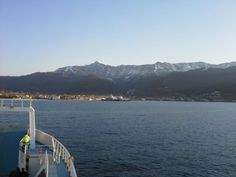Snow in March in Thassos Secluded Beach, Wooden Boats, Sailing, Greek, March, Snow, Mountains, Travel, Wood Boats