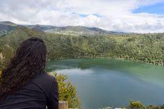 La laguna color Esmeralda...