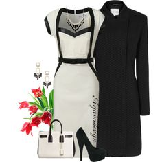 """Dorothy Perkins Dress"" by arjanadesign on Polyvore"
