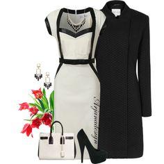 """Dorothy Perkins Dress"" by arjanadesign on Polyvore"