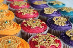 Bollywood henna cupcakes by Maryam's Kitchen, via Flickr