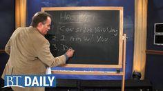BT Daily: Haggai, Part 3: Do Not Fear