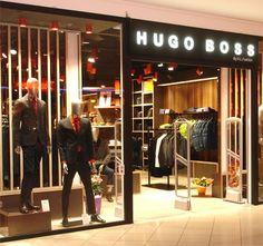 Hugo Boss | Lunoo How To Attract Customers, Hugo Boss, Retail, Lighting, Retail Merchandising, Lights, Lightning