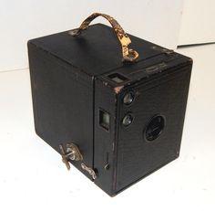 Kodak Brownie No. 3 Model B Box Camera by SwedishGalsAntiques