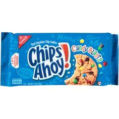 Nabisco Chips Ahoy! Candy Blasts Chocolate Chip Cookies, 12.4 oz