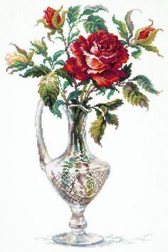 40-65 Красная роза