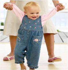 How to Teach your Baby to Walk #stepbystep