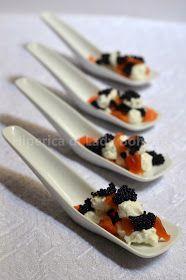 Hiperica di Lady Boheme: Antipasto con Camoscio d'Oro, salmone affumicato e uova di lompo