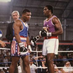 Henry Tillman and Mike Tyson