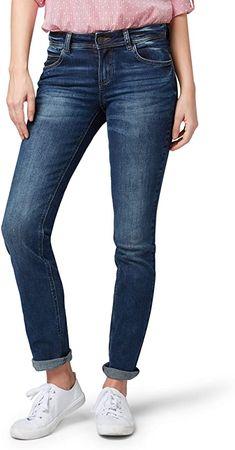Bekleidung, Damen, Jeanshosen Pullover, Sweatshirt, Toms, Tom Tailor, Skinny Jeans, Denim, Pants, Fashion, Dressing Up