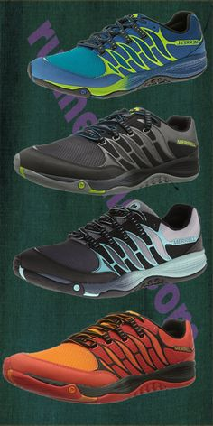 Merrell Allout Fuse Trail Running Shoe. extremely durable shoe that can handle roads and packed trails