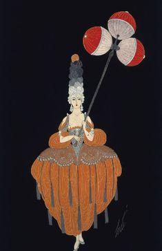 Lantern Bearer Erte 1919
