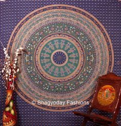 Textile Shop: OFFER ONLY 2 DAY'SBlue Hippie Tapestries, Tapestr...