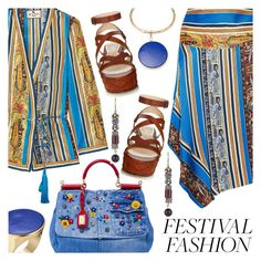 """""""Good Vibes Only: Festival Fashion"""" by shoaleh-nia ❤ liked on Polyvore featuring Etro and Dolce&Gabbana"""