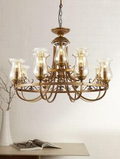 Rubel 8-Lamp | Chandeliers online, Chandeliers and Traditional