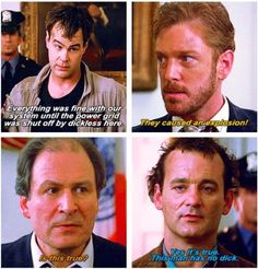 Watching Ghostbusters... This Has To Be My Favorite Part