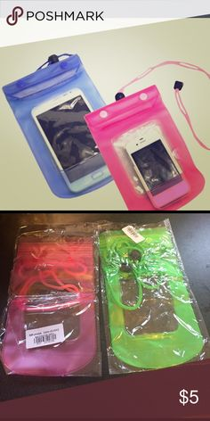 Waterproof pouch bags New style handy waterproof dry pouch bag case cover for cell phone Accessories Phone Cases