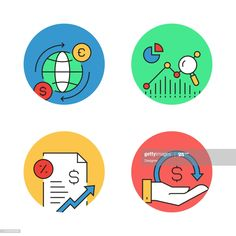 Vector Design, Finance, Desktop, Backgrounds, Icons, Simple, Illustration, Art, Art Background