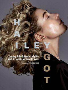 World Country Magazines: Model @ Hailey Baldwin & Lucky Blue Smith for Jalouse April 2015