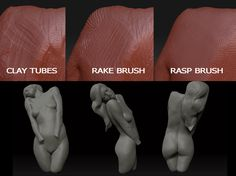 A free, short video tutorial on how to use the Rasp or Sandpaper brush. Zbrush Tutorial, 3d Tutorial, Photoshop Tutorial, Zbrush Character, Character Modeling, Animation Reference, Anatomy Reference, Zbrush Core, 3d Human