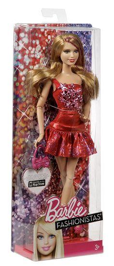 Mattel Y7491 - Barbie Fashionista Doll, Dark/Bionda: Amazon.it: Giochi e giocattoli