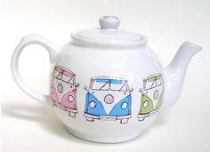 Kombi Campervan teapot #kombilove