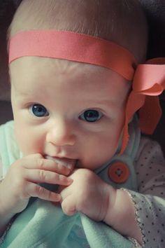 Hanna at 3 months