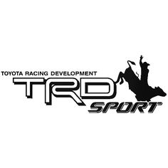 TOYOTA TRD SPORT DECALS PAIR EBay Motors Parts - Vinyl decals for race carspopular trd vinyl decalbuy cheap trd vinyl decal lots from china