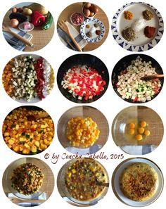 Tortilla de Calabaza Collage