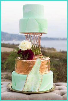 Wedding Cakes - Give an Appealing Look to Your Wedding Cake -- You can find out more details at the link of the image. #WeddingCakes