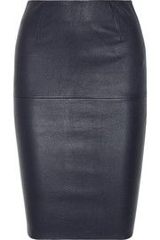 By Malene Birger Dolila leather pencil skirt