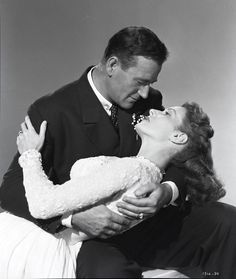 The Duke and Maureen O'Hara... Never been chemistry on the big screen like what these two had
