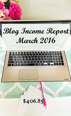 March 2016 Blog Income Report