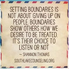 """so well put ... healthy people respect normal boundaries, toxic individuals are angered by them ... why would asking to be treated with kindness, love, and respect cause someone anger, if they truly """"have your best interests at heart""""? Something to think about..."""