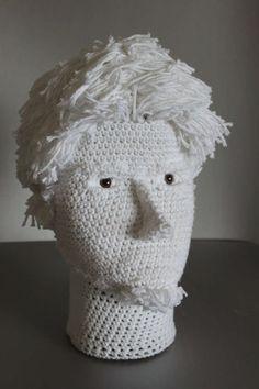 Self-portrait in Yarn by Etsy'sBenjaminKrudwig