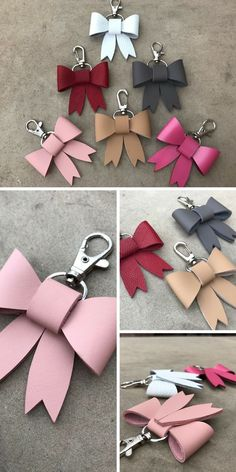 Llavero de cuero Gifts For Sister In Law Diy 22 Ideas For 2019 Crea Cuir, Sister In Law Gifts, Leather Keyring, Leather Necklace, Diy Keychain, Keychains, Gift Bows, Creation Couture, Bijoux Diy