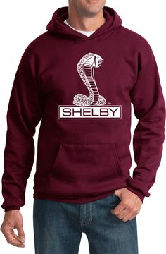 Ford Mustang Hoodie Shelby Cobra Hoody Ford Mustang Shirt Shelby Cobra Ford Mustang Hoodie Shelby Cobra Hoody Officially Licensed Available in Small, Ford Shelby Cobra, Ac Cobra, Black Mustang, Ford Mustang, Kangaroo Pouch, Order Prints, Unisex, Hoodies, How To Wear