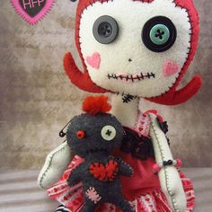 voodoo doll cute - Google Search