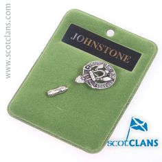 Johnstone Clan Crest Penant. Free Worldwide Shipping Available