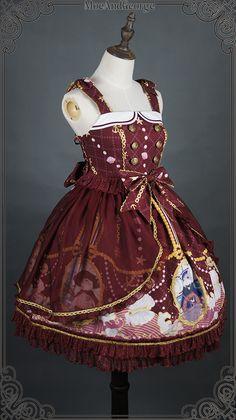 Moe And George -Sailor Cats- Lolita Jumper Dress
