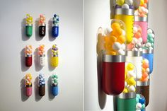 If It's Hip, It's Here: Better Living Through Chemistry. Contemporary Capsule Sculptures by Edie Nadelhaft.