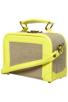 I totally need this to be my briefcase! It would hold my laptop and art supplies! *Love* it!