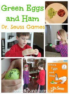 Green Eggs and Ham Dr. Seuss Games