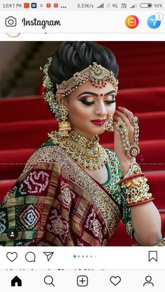 Traditional Indian Bridal Makeup Looks That You Must Know as A Bride! Bridal Makeup For Brown Eyes, Bridal Makeup Looks, Bride Makeup, Bridal Looks, Beautiful Bridal Makeup, Wedding Day Makeup, Hair Wedding, Bridal Beauty, Indian Bridal Outfits