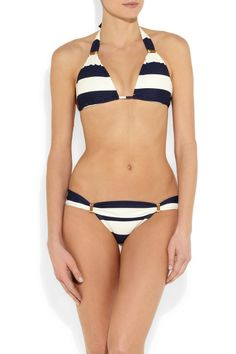 Vix|Malawi striped bikini briefs|NET-A-PORTER.COM
