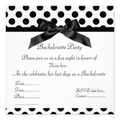 =>Sale on          ELEGANT BLACK SPOT BACHELORETTE PARTY INVITATION           ELEGANT BLACK SPOT BACHELORETTE PARTY INVITATION we are given they also recommend where is the best to buyDiscount Deals          ELEGANT BLACK SPOT BACHELORETTE PARTY INVITATION today easy to Shops & Purchase Onl...Cleck Hot Deals >>> http://www.zazzle.com/elegant_black_spot_bachelorette_party_invitation-161433412623940037?rf=238627982471231924&zbar=1&tc=terrest