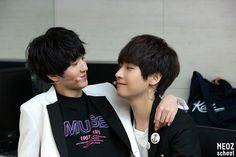 Chani and Inseong