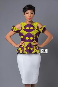 More Beautiful Ankara Tops You Can Sew